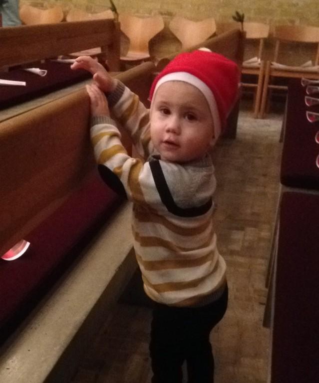 Julegudstjeneste med Konrad