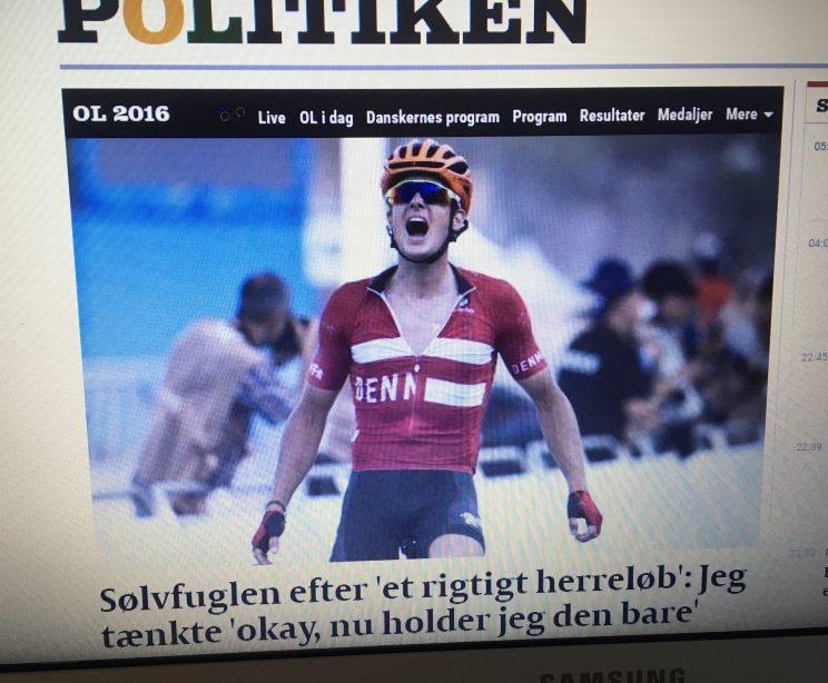 Jubelscene - Sølvfuglen - Danmark - OL - Cykling - Landevej - Politiken