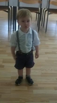 Otto klædt på til fest