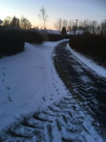 5. januar - vi har da fået lidt sne :-)