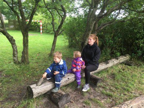På besøg på legepladsen i Otto´s kommende børnehave
