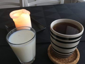 Morgendrik - Skummetmælk + te