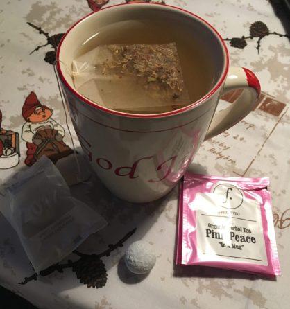 Te og lakrids fra mine julekaldere