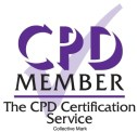 CPD accreditation logo from the CPD Certification Service