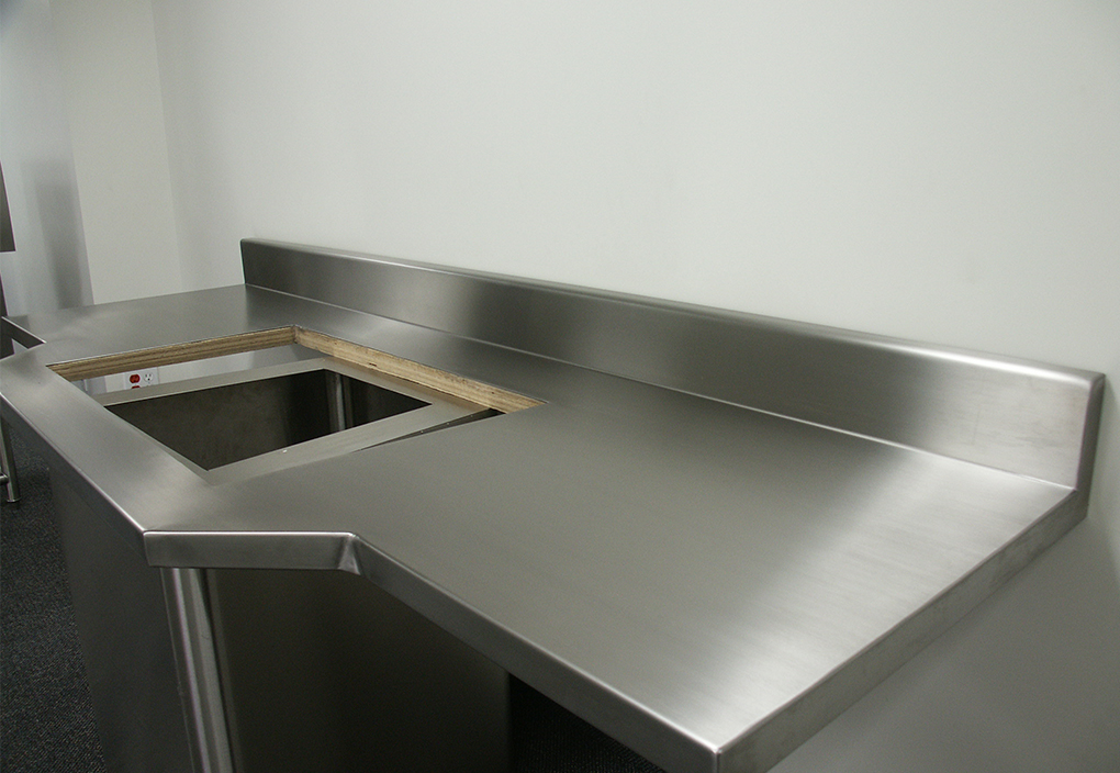stainless steel countertops stainless