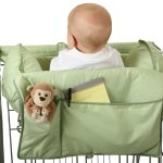 Leachco shopping cart carrier with pillows for unstable sitters - pockets