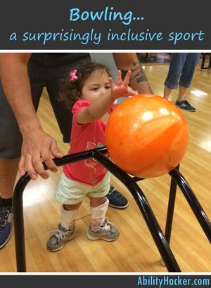 Bowling - a surprisingly inclusive sport