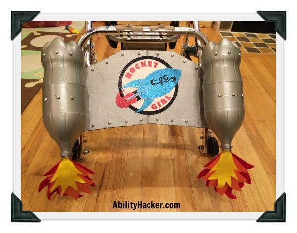 Rocket Girl - Wing on posterior walker