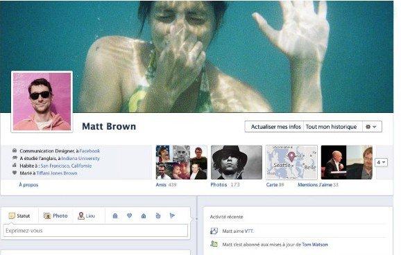 Le nouveau Facebook et ses nouvelles applications