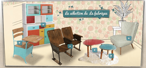 tendances web design : style vintage