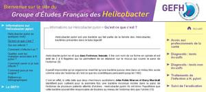 Groupe d'Etudes Français des Helicobacter