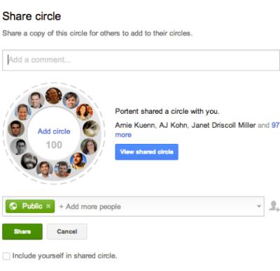 réseaux sociaux : Cercles GOOGLE+, Communautés et Hangouts pour communiquer pour améliorer l'engagement