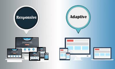 responsive ou adaptive
