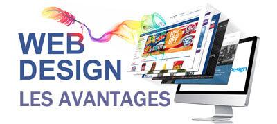 Les avantages du web design