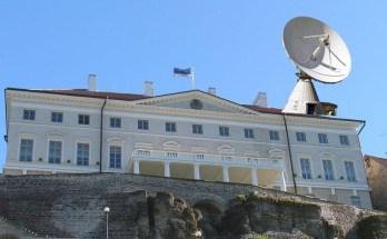 Radar Stenbocki maja katusel
