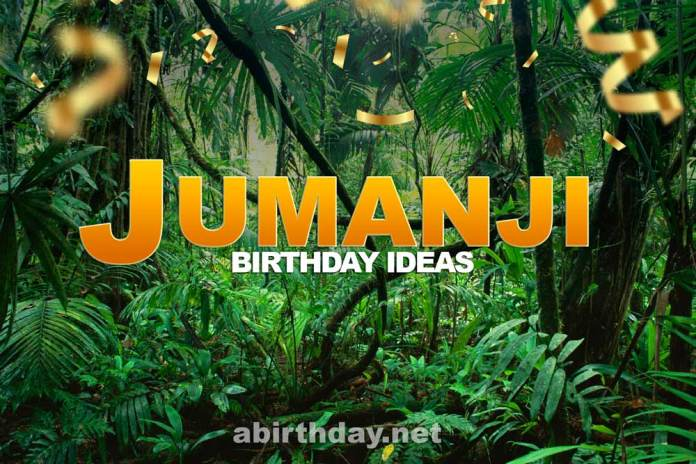 Jumanji Birthday Party