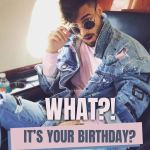 Maluma Happy Birthday Card
