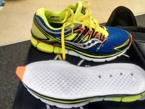 Saucony Triumph ISO soles