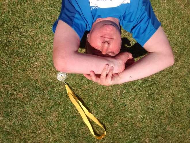 jim laying down