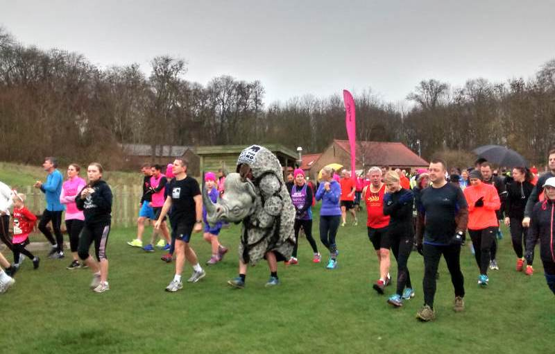 Jim's Rhino Running Tour Of Parkruns
