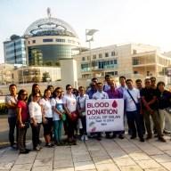 Delegazione dei donatori filippini in visita