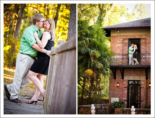 Engagement Session at Adams Pond and USC Horeshoe in Columbia, SC :: Meredith and David