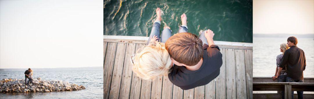 Engagement Session at Lake Murray Dam