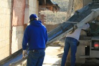 Able Homes renovating an apartment building