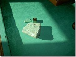 амазонит и медный колчедан. 004
