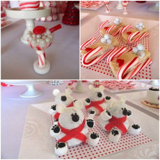 Christmas Dessert Table Ideas Photograph Of Parties S