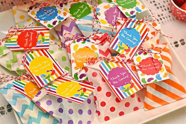 Rainbow Jelly Bean Party