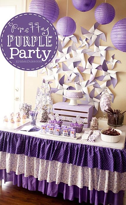 pretty purple party