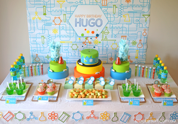 there are so many wonderful details included in this party a few of my favorite include