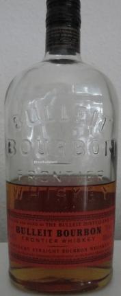 Bulleit Bourbon Frontier Whiskey Flasche