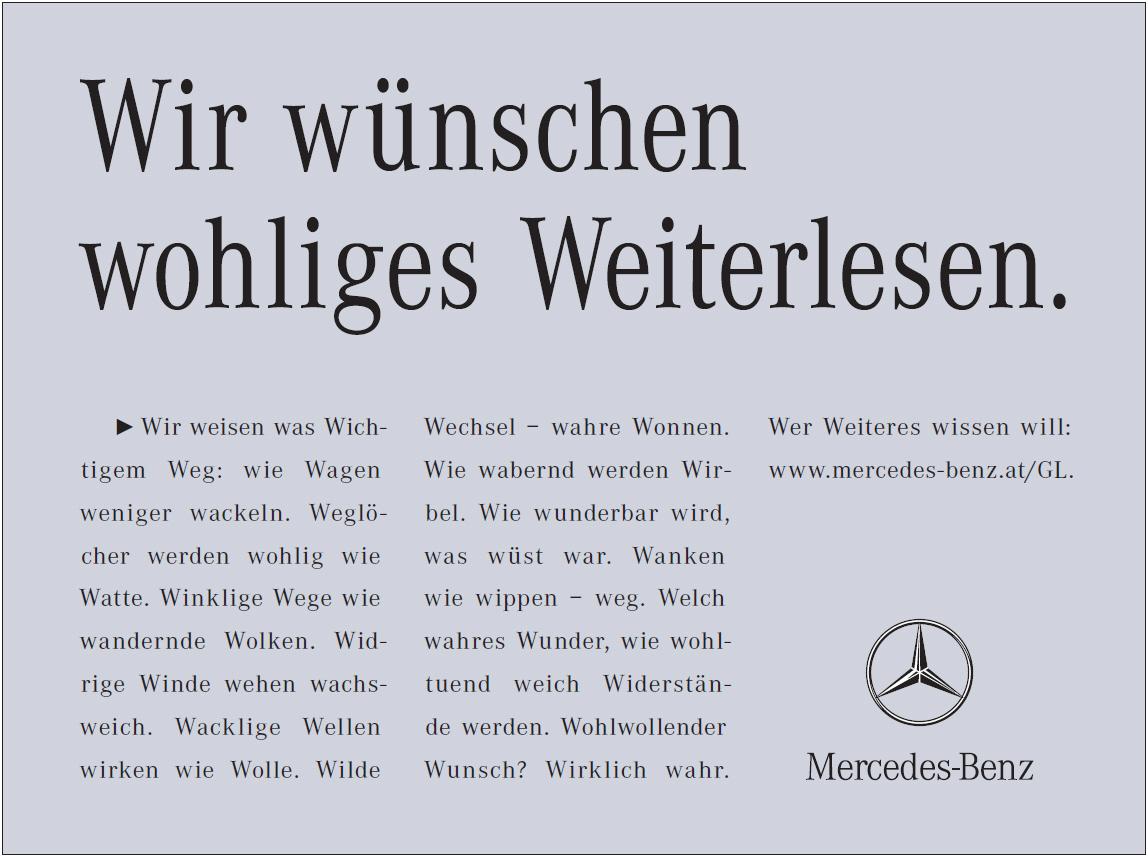 Mit freundlicher Genehmigung von Mercedes-Benz Österreich.