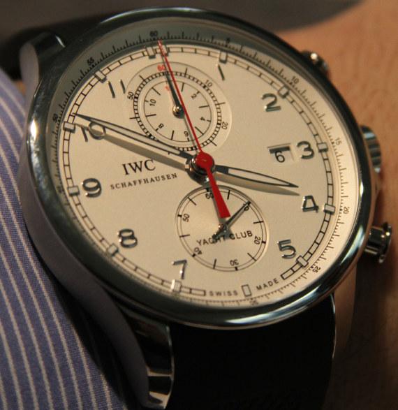 IWC Portuguese Yacht Club Chronograph Watch ABlogtoWatch