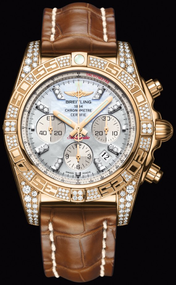 Breitling Chronomat 01 Diamondworks Watch Watch Releases