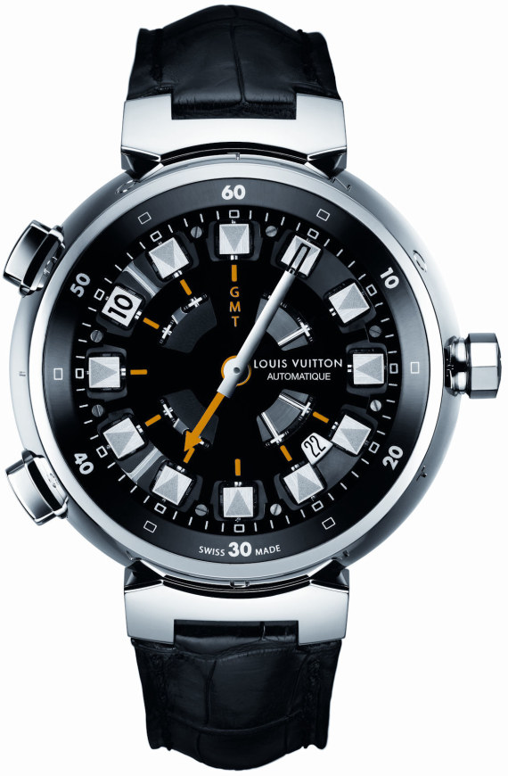 Louis Vuitton Tambour Spin Time GMT Watch Watch Releases