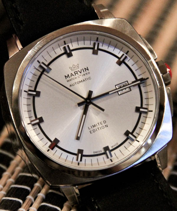 Marvin Malton 160 Cushion Watch Hands-On Hands-On