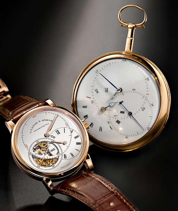 """A. Lange & Söhne Richard Lange Tourbillon """"Pour le Merite"""" Watch Watch Releases"""