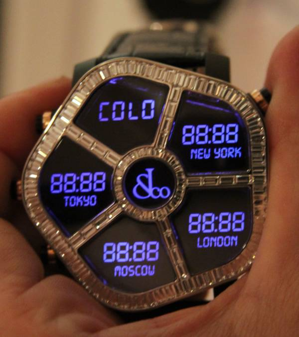 Jacob & Co. Ghost Watch Hands-On Hands-On