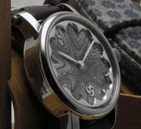Gustafsson & Sjögren Damascus Vile Watch & Oden Knife Set Watch Releases