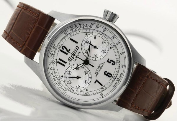 Alpina Startimer Classic Automatic Chrono Watch Has Very Sad Hands Watch Releases