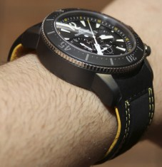 Jaeger-LeCoultre Master Compressor Diving Chronograph GMT Navy SEALs Watch Review Wrist Time Reviews