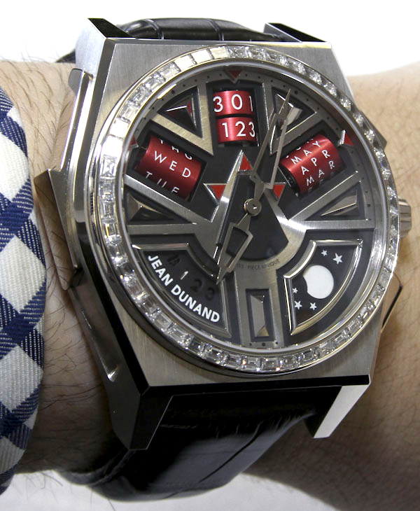 Jean Dunand Shabaka Watch Hands-On Hands-On
