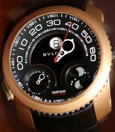 Bulgari GG Gefica Hunter GMT Moon Phase Watch Review Wrist Time Reviews