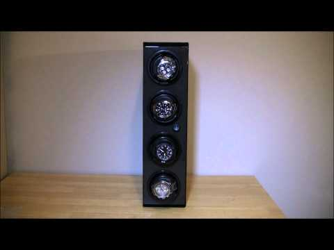 Orbita Avanti 4 Vertical Stack Watch Winder Review Luxury Items