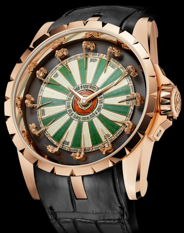 Roger Dubuis Excalibur Table Ronde Watch Fulfills Your Arthurian Dreams Watch Releases