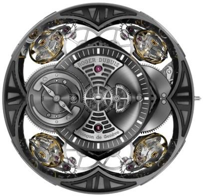 Roger Dubuis Excalibur Quatuor Watch Hands-On Hands-On