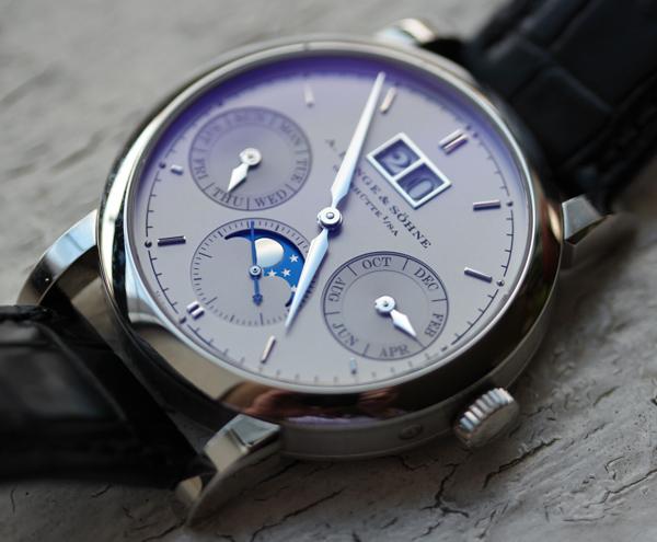 A. Lange & Söhne Saxonia Annual Calendar Platinum Watch Review